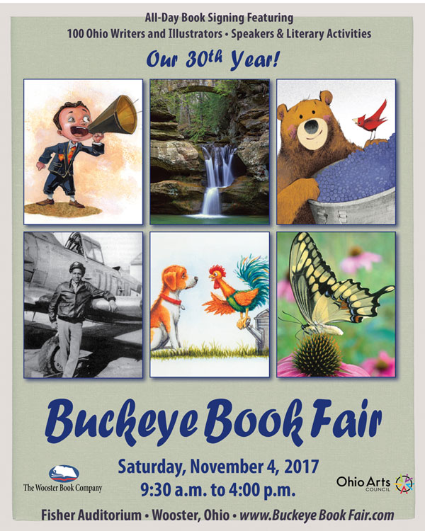 2017 Buckeye Book Fair Brochure Cover