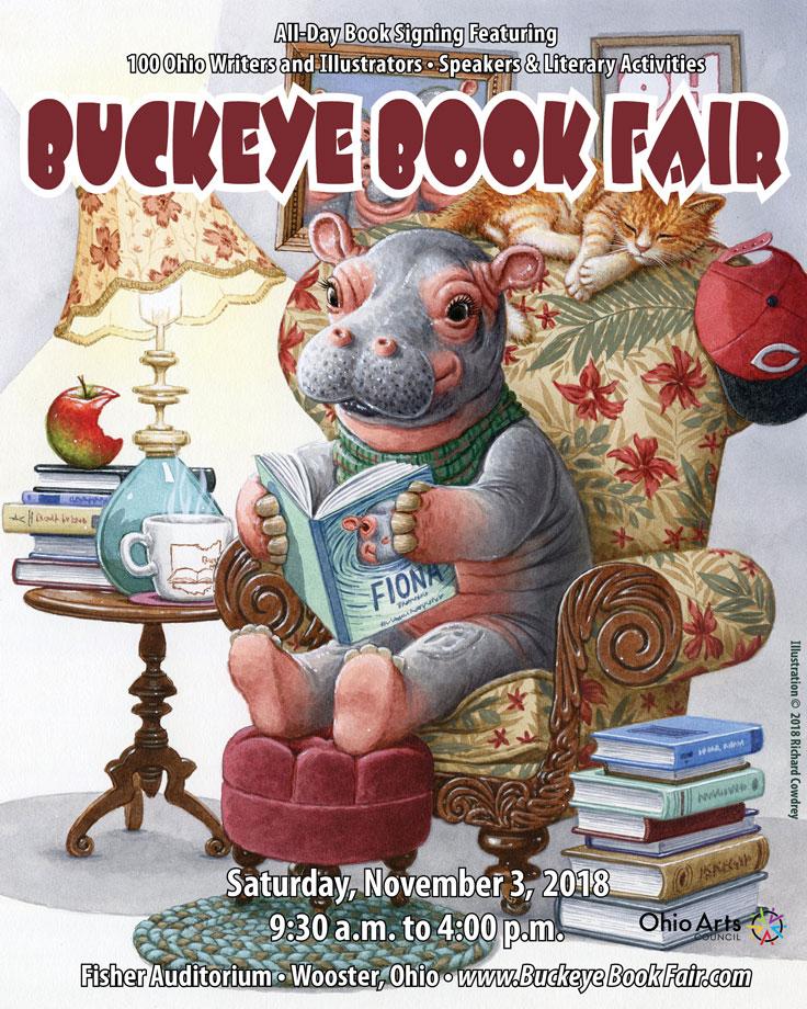 2018 Buckeye Book Fair Brochure Cover