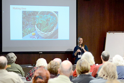 Author Amy Stross discusses her book The Surburban Micro-Garden