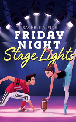 book cover- Friday Night Stage Lights