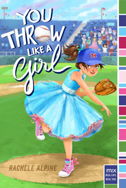 book cover- You Throw Like a Girl