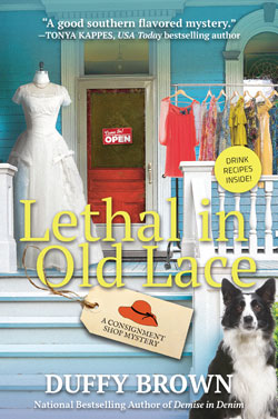 Book cover- Lethal in Old Lace