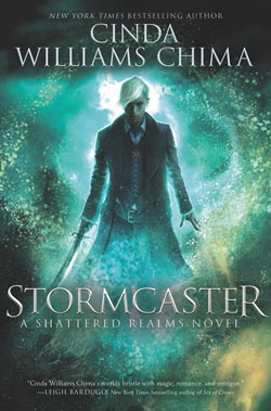 book cover-Stormcaster