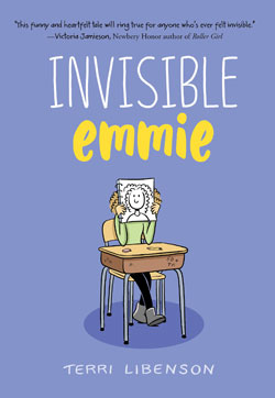 book cover - Invisible Emmie