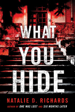 Book cover- What You Hide
