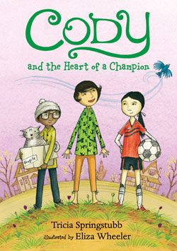 book cover: Cody and the Heart of a Champion