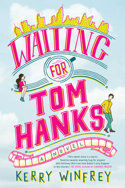 Book cover - Waiting for Tom Hanks