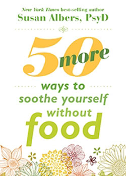book cover 50 more ways to Soothe Yourself without Food