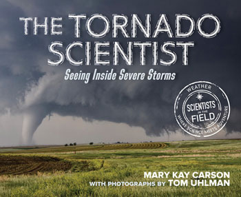 book cover The Tornado Scientist