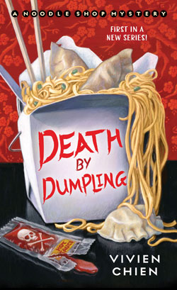 book cover Death by Dumpling