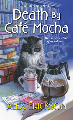 book cover Death by Cafe Mocha