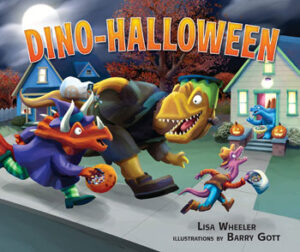 book cover Dino Halloween