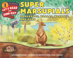 book cover Super Marsupials