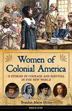book cover Women of Colonial America