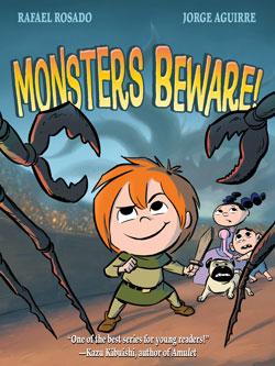 book cover Monster's Beware