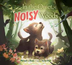 book cover In the Quiet, Noisy Woods